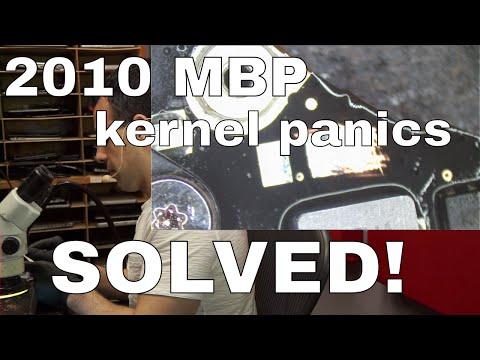 Macbook Pro 2010 kernel panic GPU issue repair: SOLVED! C9560