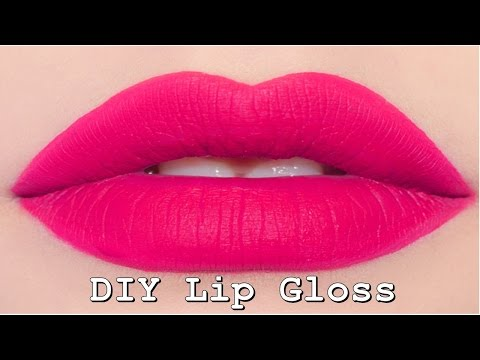 DIY Lip gloss | how to make lip gloss at home