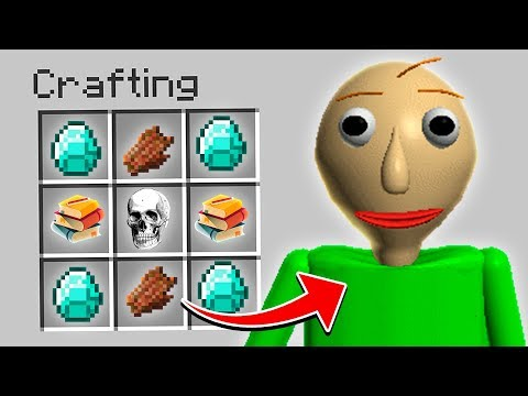 HOW TO SUMMON BALDI FROM BALDI'S BASICS IN MINECRAFT!