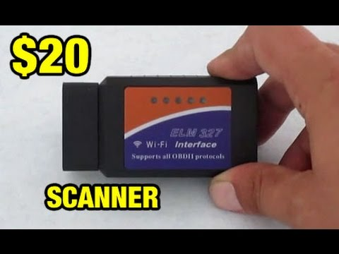 ELM 327 OBD2 WiFi/Bluetooth Scanner Review for iPhone and Android