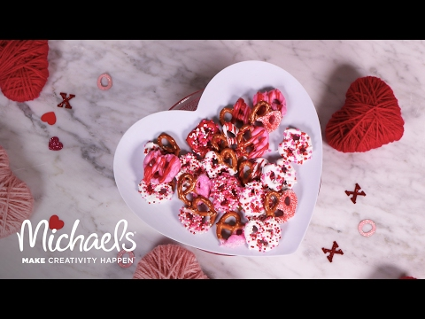 Chocolate Dipped Pretzels | Michaels