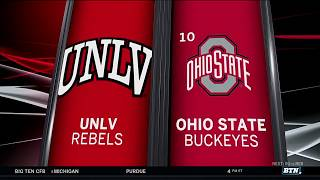 UNLV at Ohio State - Football HIghlights