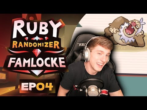 OUR FIRST CHALLENGE & THE 2ND GYM! | Pokemon Ruby Randomizer Famlocke EP 4