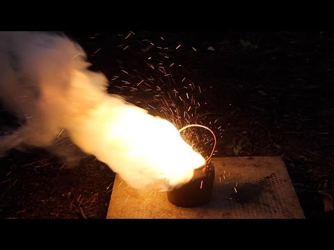 Extracting Iron from Thermite