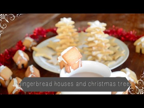 How To: Mini Gingerbread Houses and Christmas Trees | Mellibear