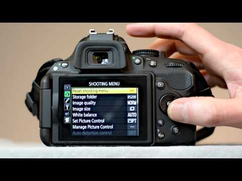 Nikon D5200 movie settings - How to set up your #D5200 to shoot videos - youtube