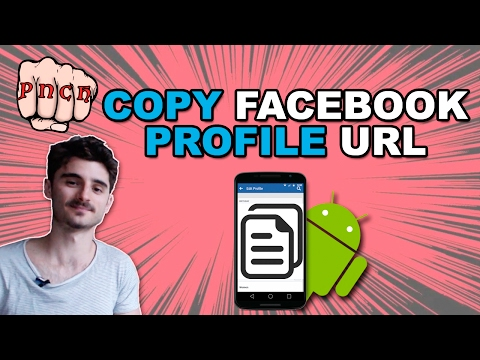 Copy Facebook Profile URL on Android