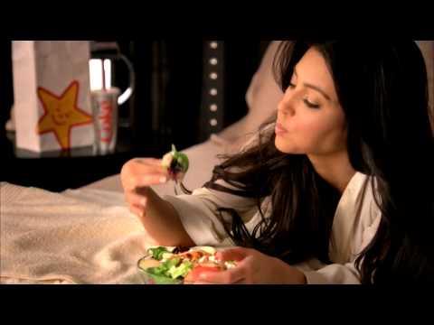 Kim Kardashian Carl's Jr. Commercial - Social Media Endorsement