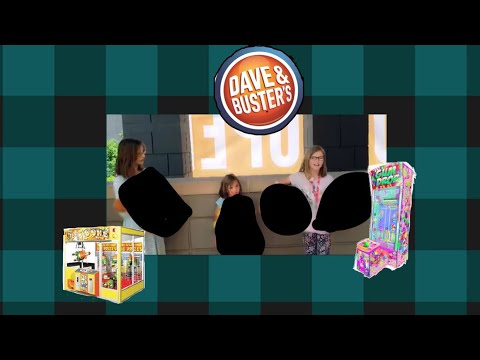 New Dave and Busters in slc Utah~ can't believe the big prizes we won