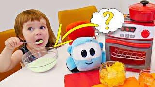 Download Привет, Бьянка - новая серия! Разноцветная каша для детей Video