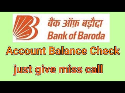 How to check bank of Baroda account Balance in mobile