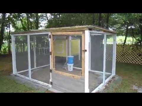Chicken Run Roofing Complete