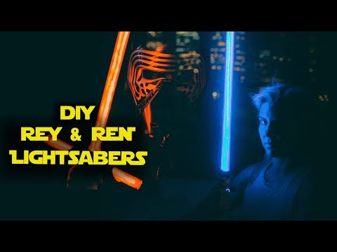 DIY LIGHTSABERS with NEOXPIXEL blade and PARTY MODE || Arduino controlled || How to Make