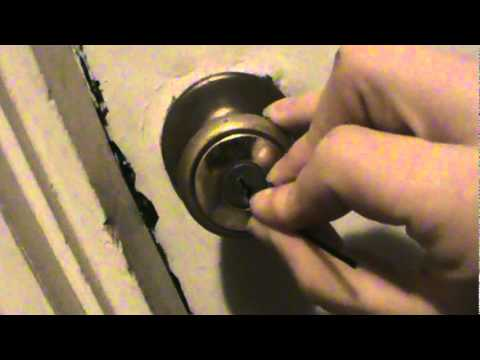 73. How to pick a lock with only ONE bobby pin