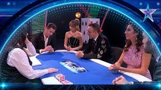 Este MAGO es capaz de ganar al PÓKER sin MIRAR las CARTAS | Semifinal 4 | Got Talent España 5 (2019)