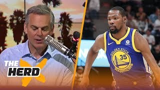 Colin Cowherd talks Kevin Durant revealing his true self, Westbrook padding stats | THE HERD