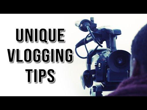 3 Uniqiue Vlogging Tips For Better Videos