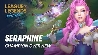 Seraphine Champion Overview | Gameplay - League of Legends: Wild Rift