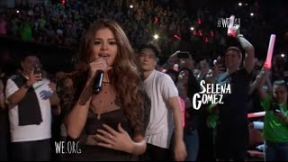"""Selena Gomez Performs """"Kill Em With Kindness"""" At We Day California 4/7/2016 [HD]"""