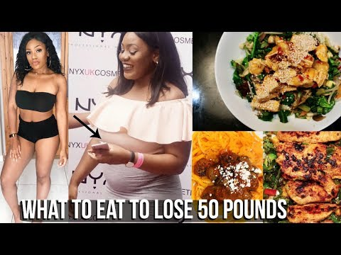WHAT TO EAT TO LOSE 50 POUNDS! 4 WEEK MEAL GUIDE IS HERE!