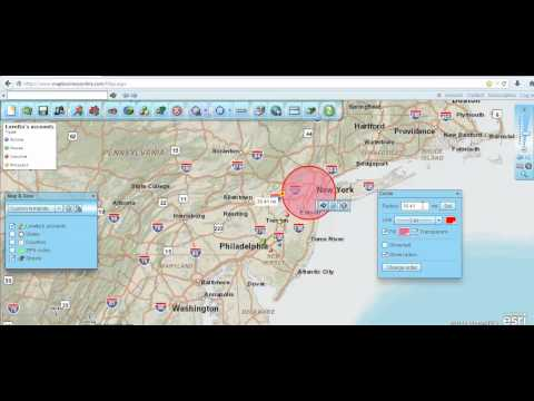 How to Create Radius Maps, Circles on Maps, and Radius Zip Codes - Map Business online