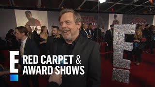 """Mark Hamill Remembers Carrie Fisher at """"Star Wars"""" Premiere"""