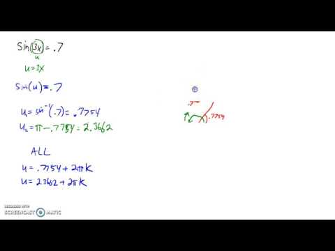 Solve Trig Equations with non-standard period