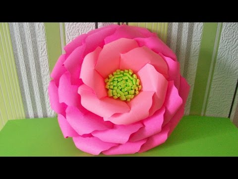 Paper Flower Crafts Ideas. Simple and Easy To Make an Origami Rose. DIY Tutorial For Adults and Kids