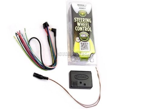 How to install steering  wheel control  metra aswc-1