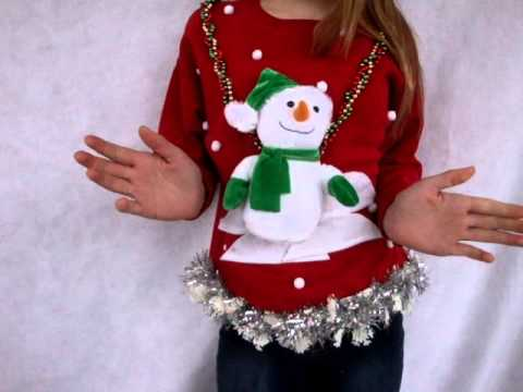 More Ugly Christmas Sweaters. Dancing Snowman