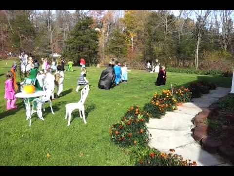 Noah's Ark's Halloween costume parade