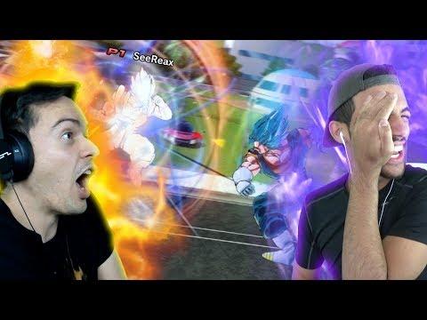 PERFECT FUSION!? GOGETA VS VEGITO BLUE! | Dragon Ball Xenoverse 2 Random Battles