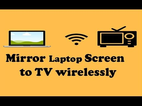 how to screen mirror laptop to tv wirelessly | Chromecast