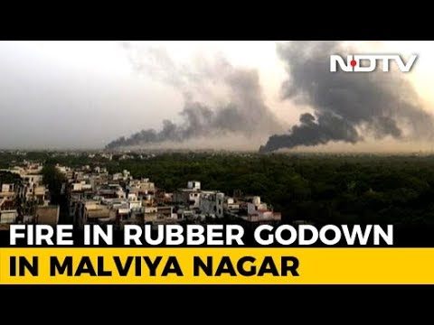 Fire In Delhi's Malviya Nagar Is 'Highest Category', 30 Fire Engines Sent