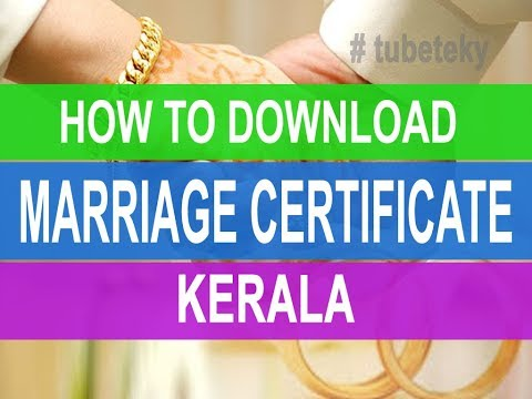 HOW TO | GET | MARRIAGE CERTIFICATE | ONLINE | KERALA |VIDEO