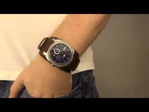 Zegarownia.pl FOSSIL Machine Leather -- Espresso Kod produktu: FS4793