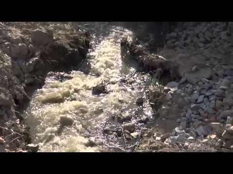Raw Sewage river pollution