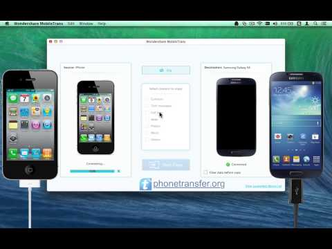 How to Sync iPhone with Galaxy S4/S5/S6 on Mac, Transfer iPhone Data to Samsung Galaxy S4 on Mac?