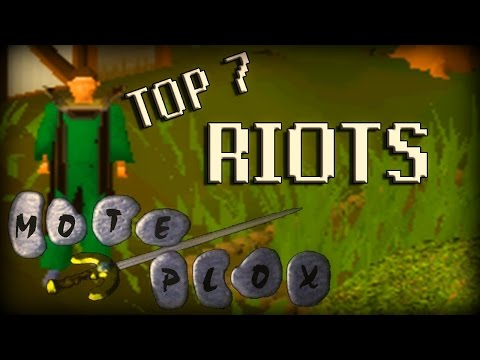 Top 7 RuneScape Riots 2007-2012