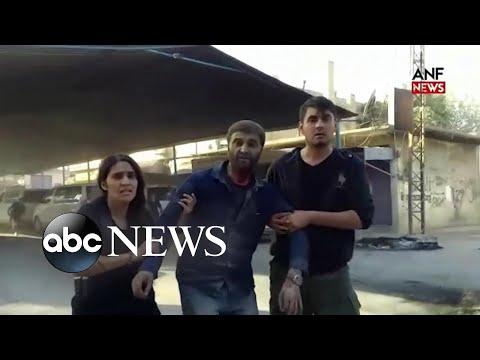 Xxx Mp4 Reports Of Mass Atrocities As Turkey Attacks Kurds ABC News 3gp Sex