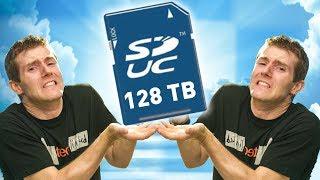 128 TERABYTES on an SD CARD!!