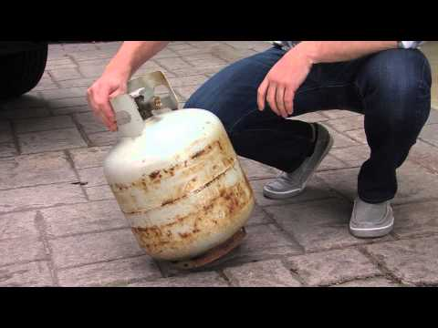 Grill Propane Tank Safety