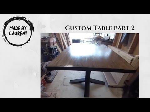 Pedestal Table Part 2