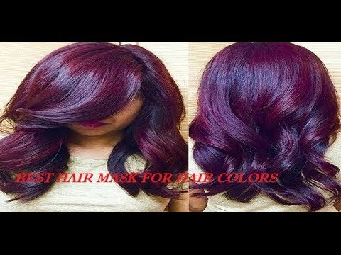 100% How to colour Hair at home naturally|Burgundy or Maroon Colour| Best hair mask for hair