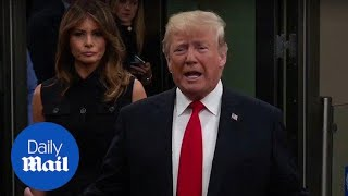Trump addresses the press ahead of speech at United Nations