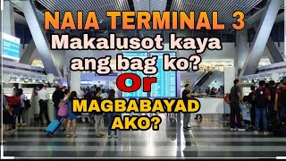 Hand carry problem? NAIA terminal 3, Flying with Philippine Airlines From Manila to Ozamis.