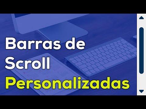 Como Personalizar las Barras de Scroll de un Sitio Web con CSS