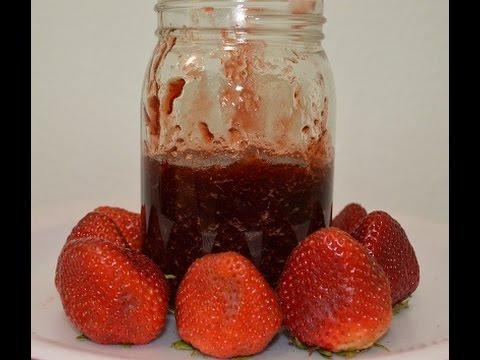 Strawberry Jam/Homemade  Jam without preservatives