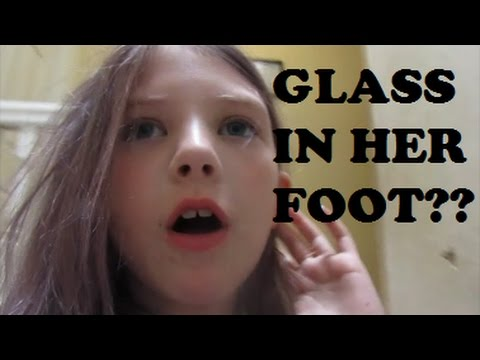 Glass In Her Foot - April 17, 2017