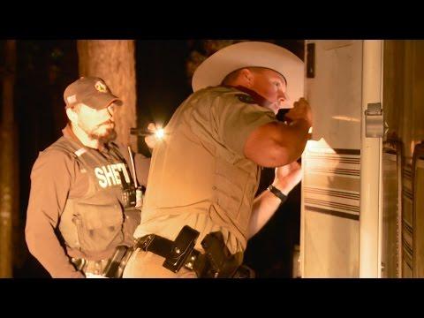 Checking a Campsite for a Convicted Felon